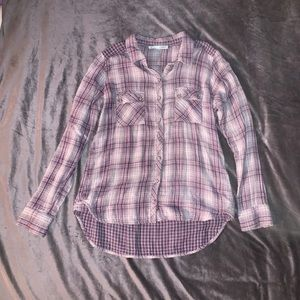Maurice's Long-Sleeve Button Down Flannel